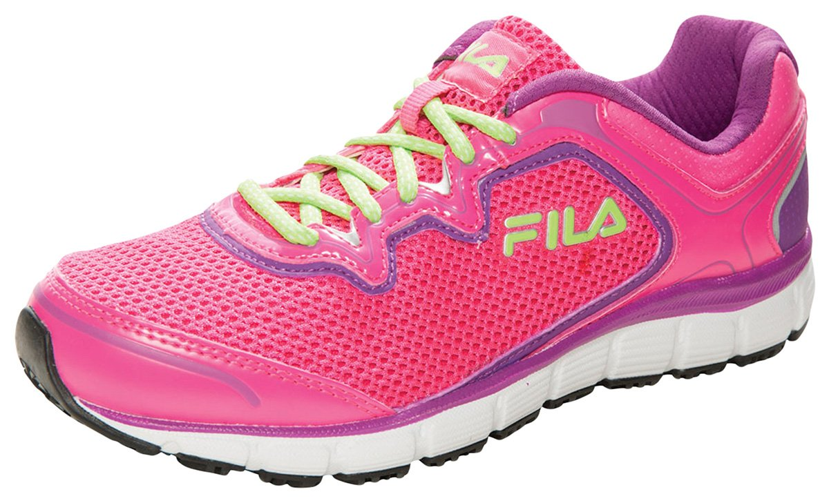 Fila USA Women's Footwear_KnockoutPink/PurpleCactus/Wht_6,MEMORYFRESH by Fila