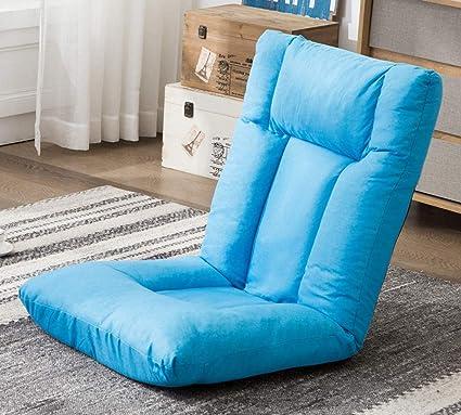 Amazon.com: Mecor Floor Chair Gaming Sofa Chair with Headrest ...