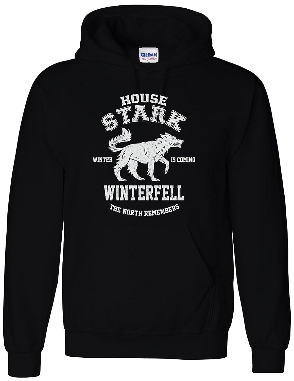 f10bbf657 Inspired House Stark Game of North Remembers Thrones Hoodie Sweatshirt