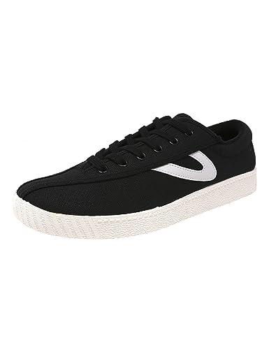 864644f75 Tretorn Womens Nylite Plus Fashion Sneaker, Adult, Black/Black/White, 4