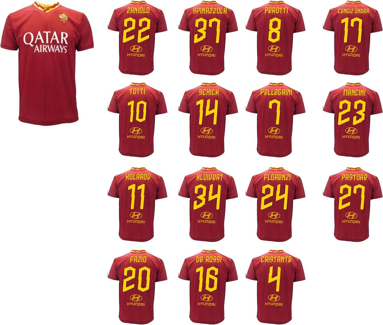 Maglia Roma Giocatori Rosa 2019 2020 AS Roma Adulto Bambino Totti ...