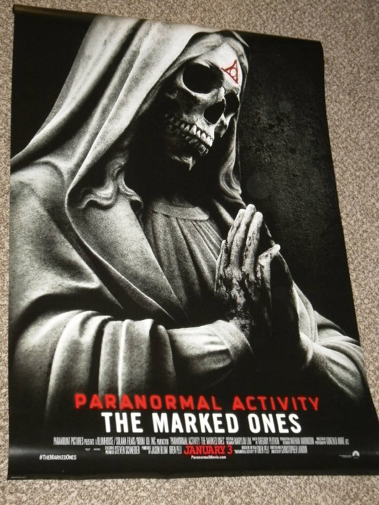 PARANORMAL ACTIVITY: THE MARKED ONES 27x40 D/S ORIGINAL POSTER
