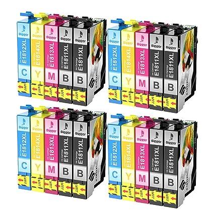 Bigger - Cartuchos de Tinta de Repuesto para Epson Expression Home ...