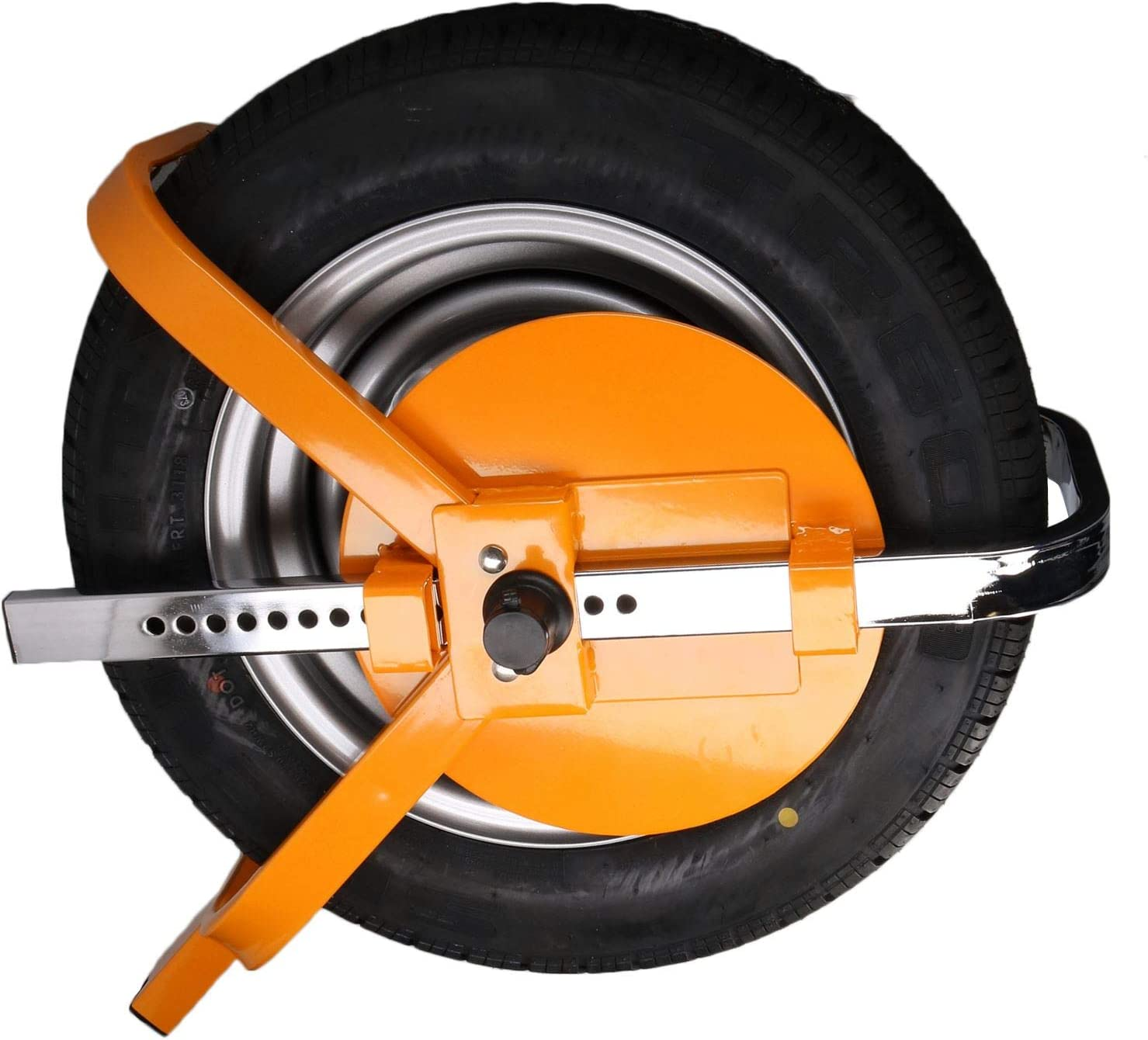 Wheel Clamp Trailer Caravan Steel Security Lock 8 10 Wheels
