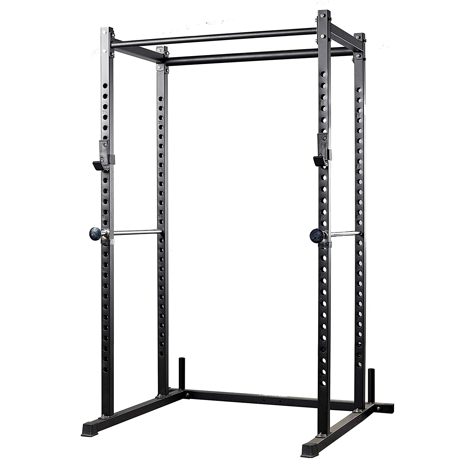 REP FITNESS Power Rack PR-1000 Dual Pullup Bars, Numbered Uprights, 1000 lb Rated, and Optional Upgrades