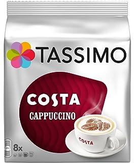 2 x Discos de Tassimo Costa Cappuccino 16/8 Porciones (total 32 discos/