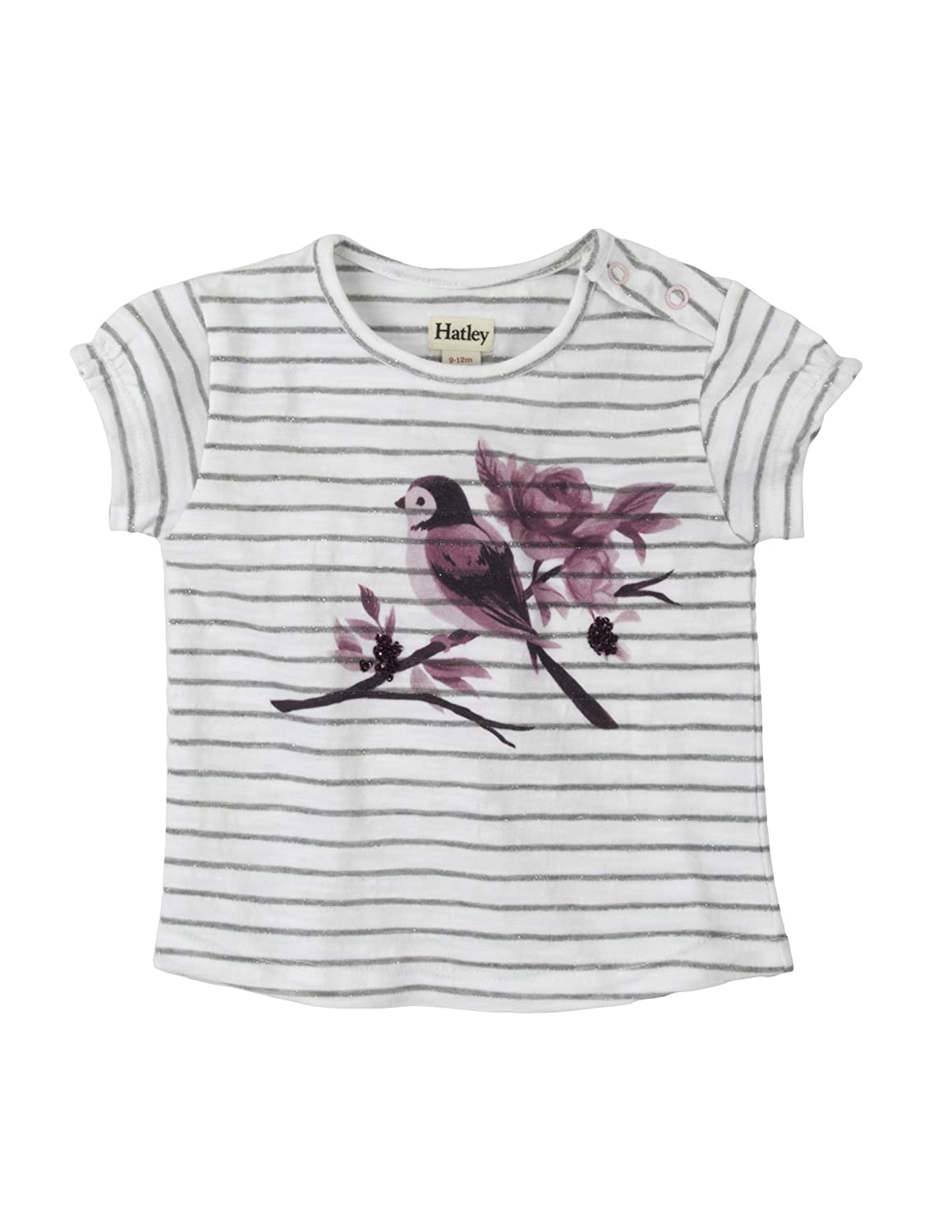 Hatley Baby Girls' Graphic Tee T-Shirt