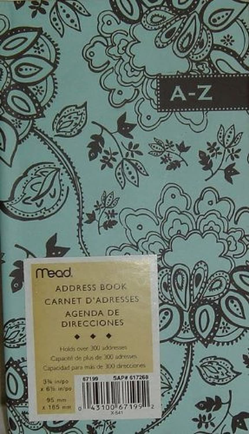 Mead Address Book, Size - 3 3/4