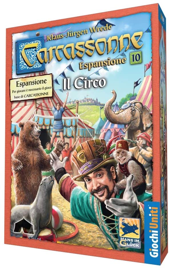 Giochi Uniti Carcassonne Exp 10-Il Circo, Colores, GU626: Amazon.es: Juguetes y juegos