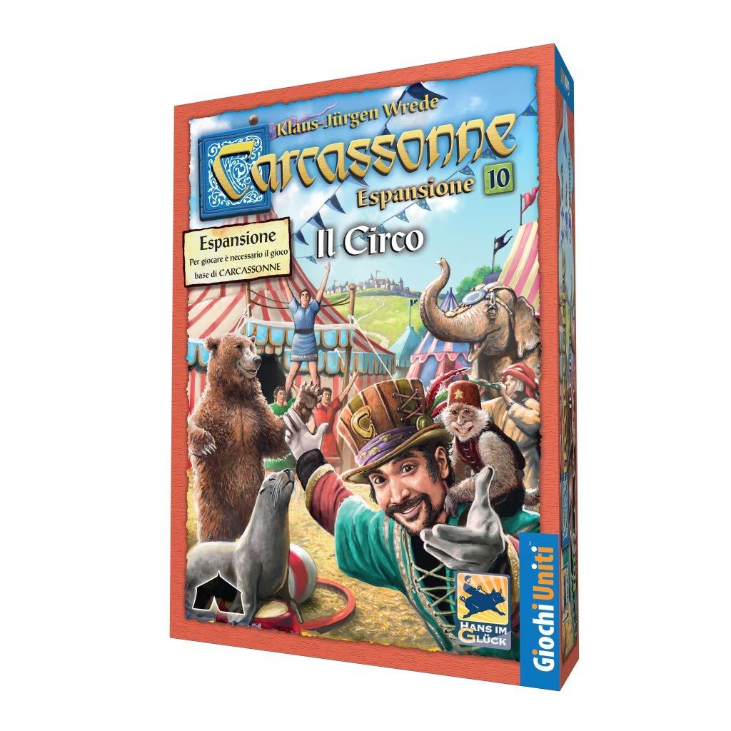 Carcassonne Exp 10-Il Circo Giochi Uniti GU626 Colori