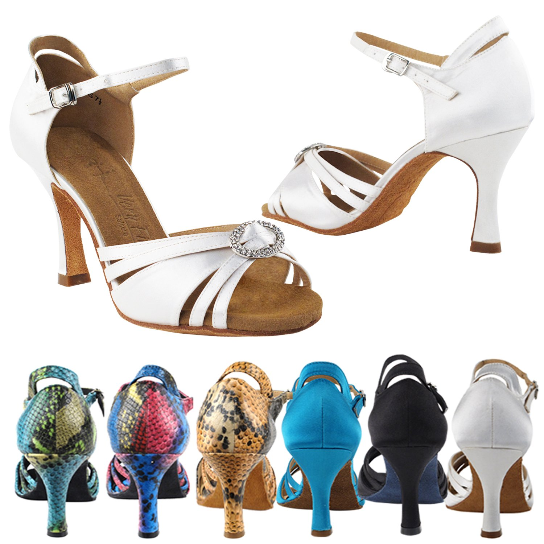 【誠実】 [Gold Pigeon Shoes] レディース B074PH9BD2 Heel Satin 3