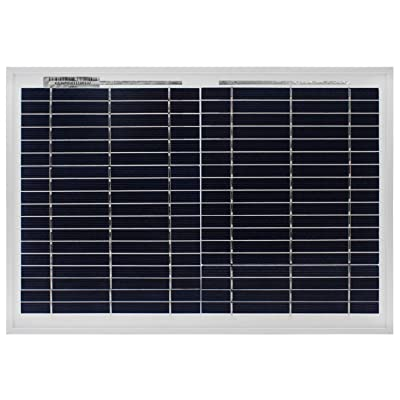 Mighty Max Battery 10 Watt Polycrystalline Solar Panel Charger for Deep Cycle Battery Brand Product : Garden & Outdoor