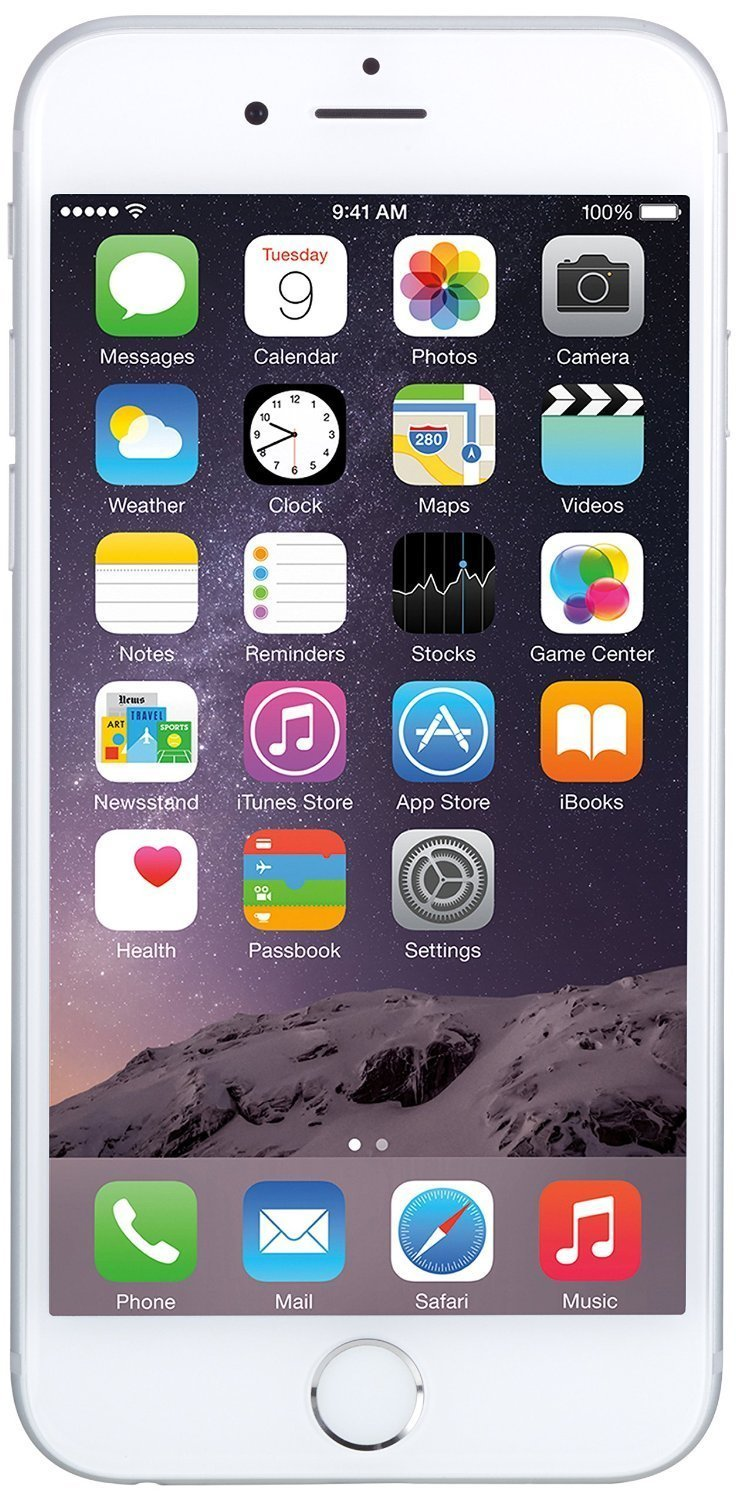 Apple iPhone 6, T-Mobile, 16GB - Silver (Certified Refurbished)