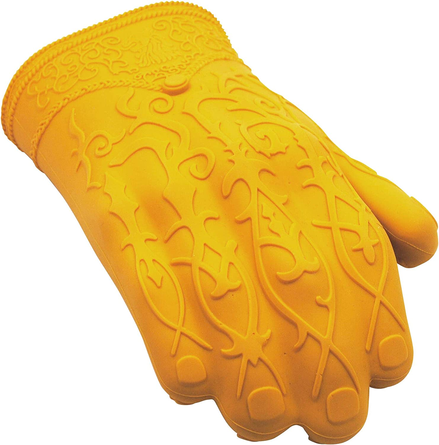 Game of Thrones House Lannister James Golden Hand Silicone Glove | Silicone Oven Mitt | Heat Resistant | Right-Handed Silicon Glove