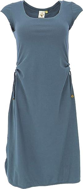 Guru Shop Wandelbares Midikleid Aus Bio Baumwolle Schmales Kleid Organic Damen Lange Midi Kleider Alternative Bekleidung Amazon De Bekleidung