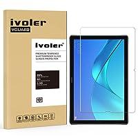 Pellicola Vetro Temperato Huawei MediaPad M5 10.8 / Huawei MediaPad M5 Pro 10.8 [Garanzia a Vita], iVoler ** [Protezione Antigraffi] **Anti-riflesso Ultra-Clear** Ultra resistente in Pellicola Huawei MediaPad M5 10.8, Pellicola Protettiva Protezione Protettore Glass Screen Protector per Huawei MediaPad M5 10.8 / Huawei MediaPad M5 Pro 10.8. Vetro con Durezza 9H, Spessore di 0,3 mm,Bordi Arrotondati da 2,5D