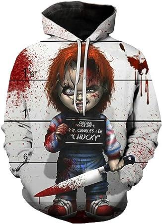 MingoTor Hombre Mujer para ChildS Play Chucky Chaqueta con ...