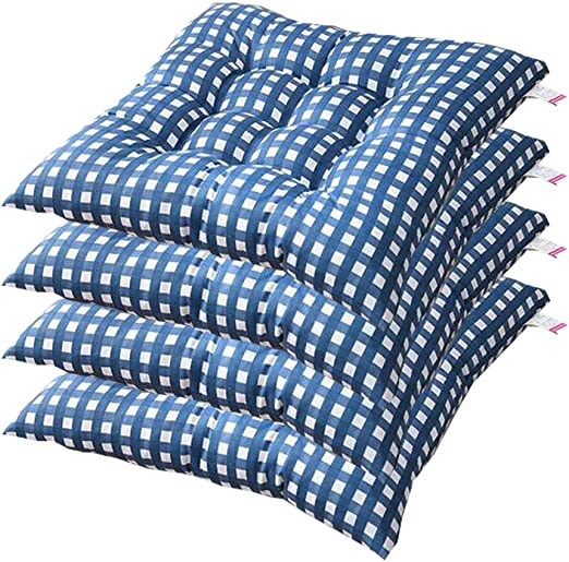 AGDLLYD Cuscino Sedia 40x40,Cuscini da Sedia Trapuntati,Morbido Cuscino per Sedia Cuscino Sedia Cucina da Giardino 40x40x7cm,Disponibile in Tanti