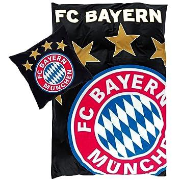 Fc Bayern Bettwäsche Mit Druckmotiv Linon