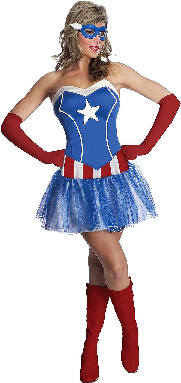Rubies - Disfraz de tutú Oficial de Marvel Miss American Dream ...