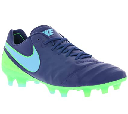 49f107da7c88 ... black white university red uk f4c94 18d65  new zealand nike mens tiempo  legend vi fg soccer cleats blue green 9.5 31385 f849f