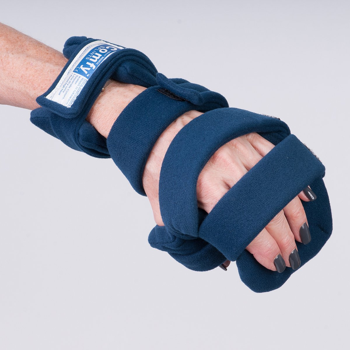 Comfy Splints Progressive Rest Hand W/ Five Straps (Finger Separator Included) - Adult Small, Right - 1 Each / Each - 24-3318 by Comfy Splints (Image #1)