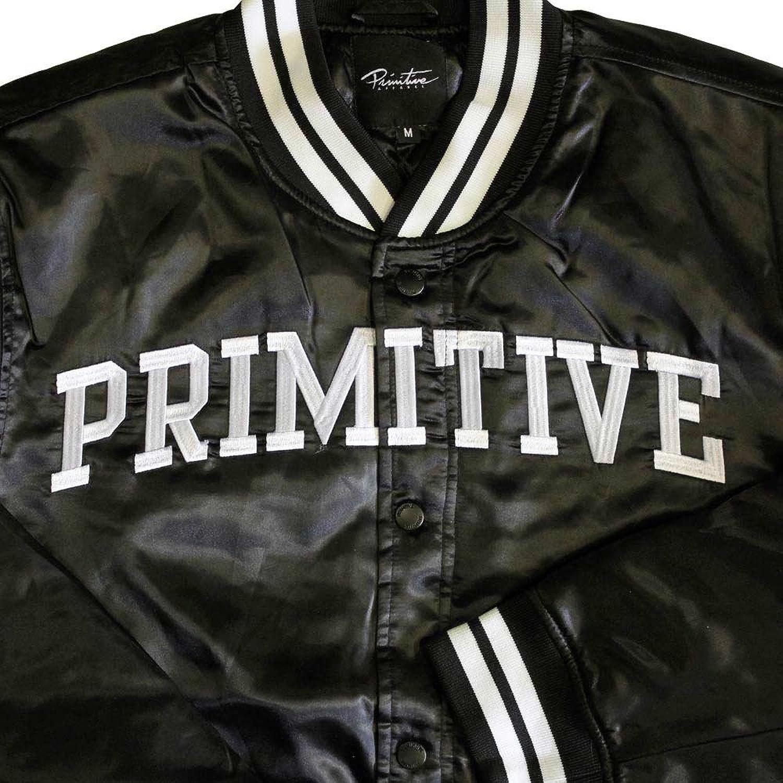 Primitive Apparel Rival Satin Jacket Black