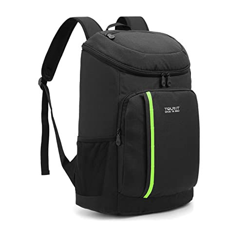 a5a96f8550 TOURIT Cooler Backpack 30 Cans Lightweight Insulated Backpack Cooler  Leak-Proof Soft Cooler Bag Large