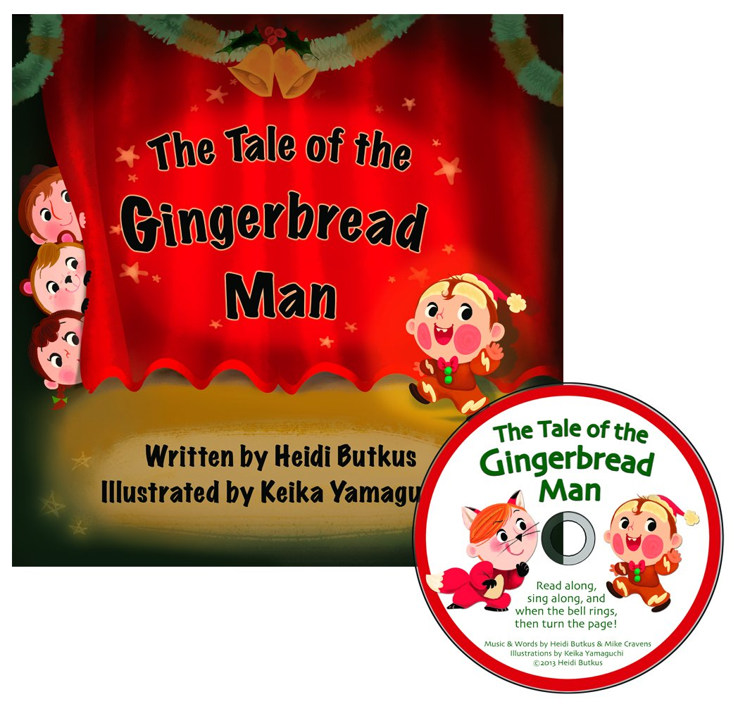 Read Online The Tale of the Gingerbread Man Picture Book & CD pdf epub