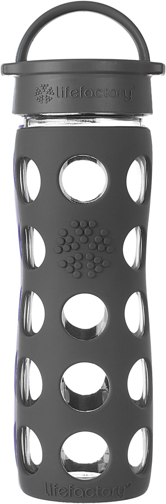 Lifefactory – Botella con Classic Cap, Vidrio, Huckleberry, 22 oz ...