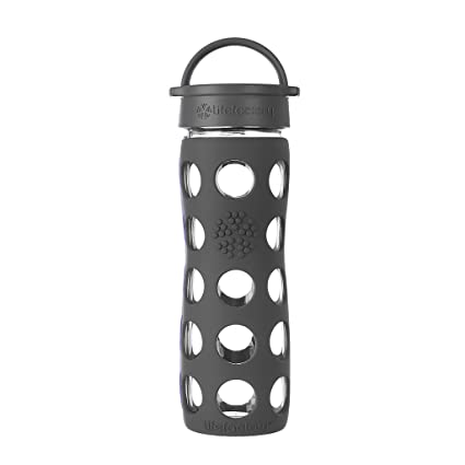 3ad39b4ebd Amazon.com: Lifefactory 16-Ounce BPA-Free Glass Water Bottle with ...