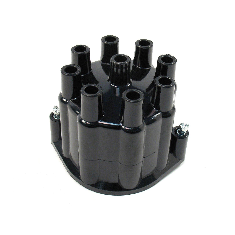 Pertronix D650700 Black Cap for Flame-Thrower Billet Distributor 8 Cylinder Engine