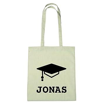 Amazon De Jollify Baumwolltasche Abschluss Geschenk Für Jonas