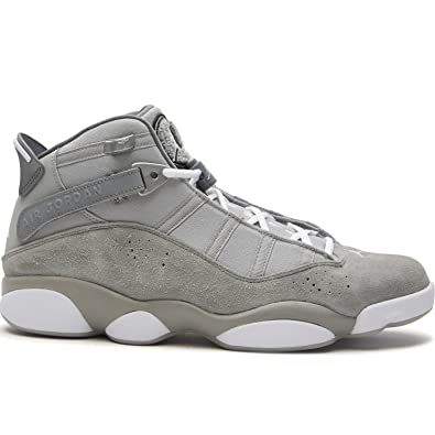 87458fceffe6 Jordan 6 Rings Mens Fashion-Sneakers 322992-014 10.5 - Matte Silver White-Cool  Grey  Buy Online at Low Prices in India - Amazon.in