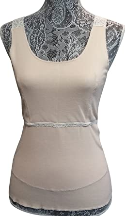 5441d5b4d6c2e SOFTEE Roo Beige Small Post-surgical Camisole