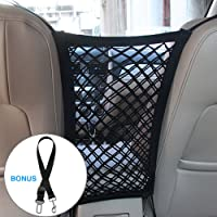 Petboro Pet Barrier Dog Car Net Barrier,New Upgrade Three-Layer Mesh Auto Seat Net Organizer,More Thicker, Bigger Capacity