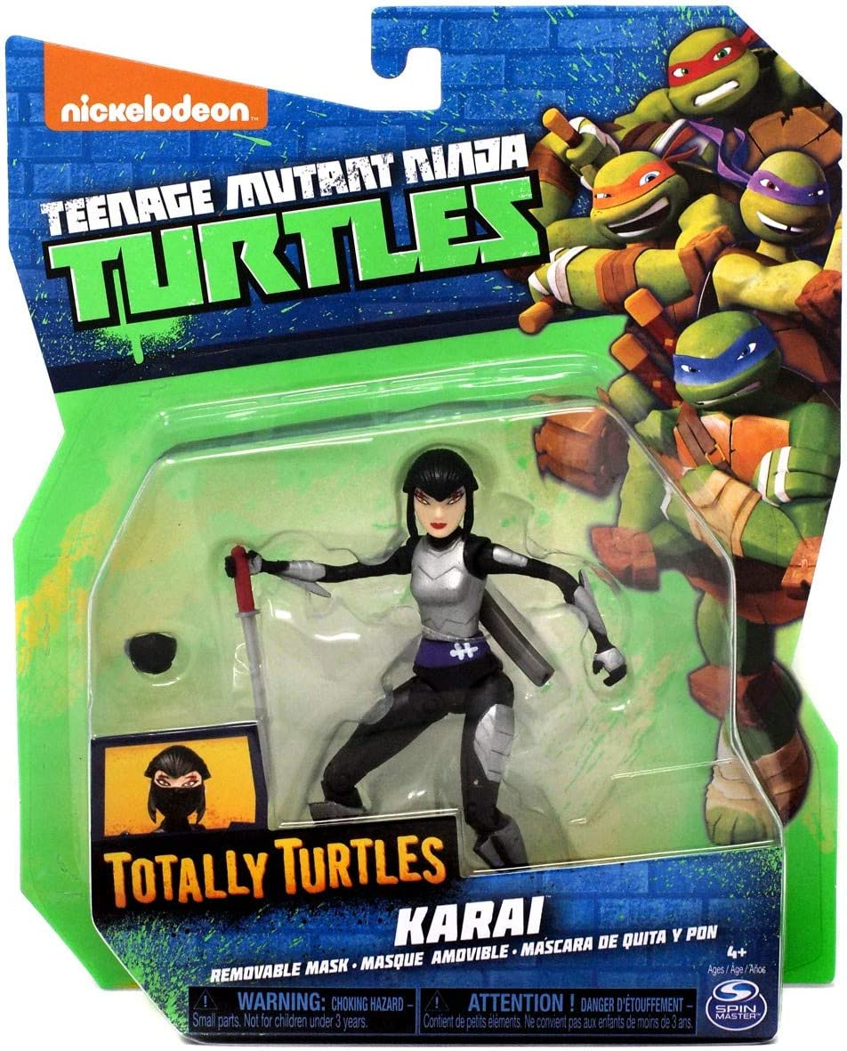 Teenage Mutant Ninja Turtles Nickelodeon Totally Turtles Karai Action Figure [Removable Mask]