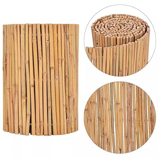 Tidyard Valla para Jardin de Bambú Redondo de Encanto Tropical ...