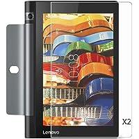 Kepuch 2 Paquetes Vidrio Templado Protector de Pantalla para Lenovo Yoga Tab 3 8.0 850F