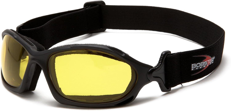 BLACK FRAME SMOKED LENS Smoke Bobster Eyewear Bobster BW201 WRAP AROUND GOGGLE