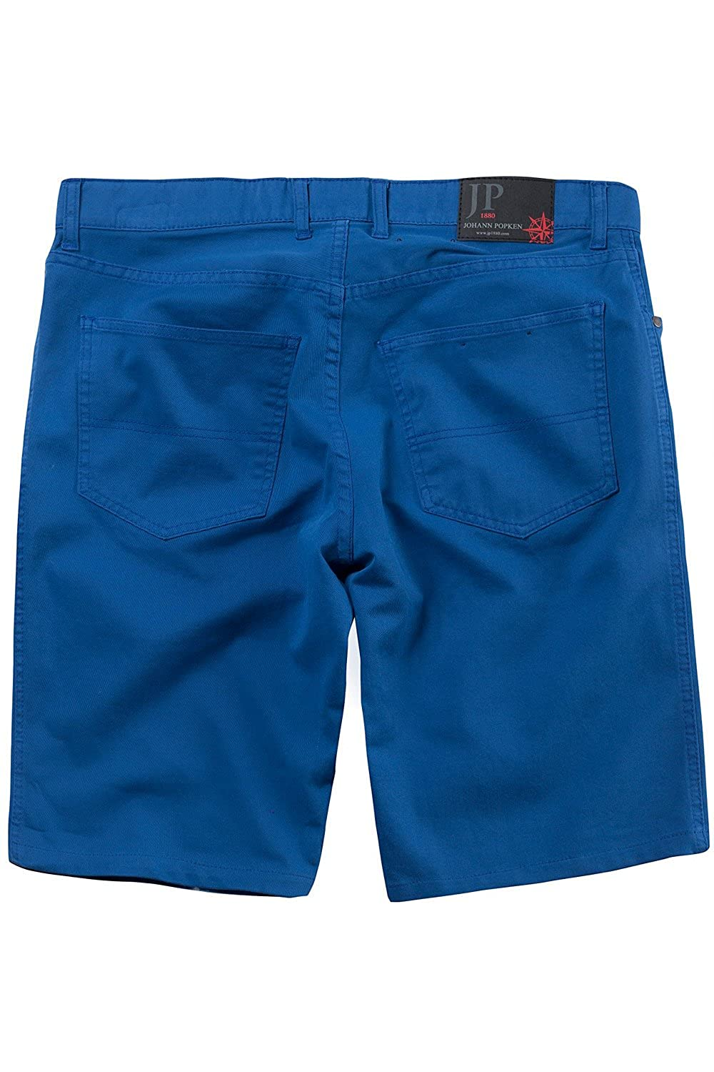 JP1880 Men's Big & Tall Plain Front Bermuda Shorts Blue 60 703676 71-60