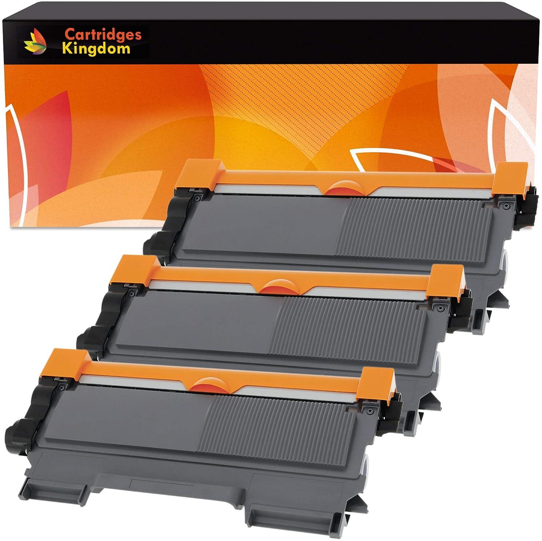 3 Compatibles Cartouches de Toner Laser pour Brother TN2010 TN2220 DCP-7055 DCP-7060D DCP-7065DN HL-2130 HL-2132 HL-2135W HL-2240 HL-2240D HL-2250DN HL-2270DW MFC-7360N MFC-7860DW FAX-2840