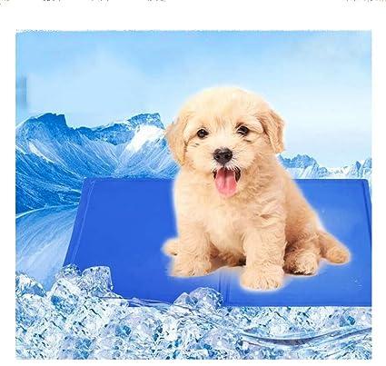 XULO Cojín De Enfriamiento para Mascotas Cojín De Enfriamiento para Perro NMat para Perros Cama Plegable