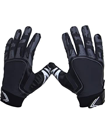 Pure Athlete Football Receiver Gloves – Elite-Stick Silicone Gripping  Technology – Adult Sizes f1ec4fc619