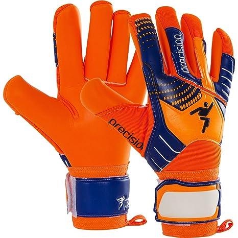 5d167aa18 Amazon.com : Precision Gk Fusion Flash Scholar Junior Goalkeeper Gloves Size  6 Orange/blu : Sports & Outdoors