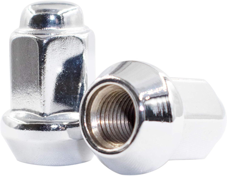 Chrome Wheel Accessories Parts Set of 16 ATV /& UTV 3//8 Thread 14mm Hex Wheel Lug Nuts