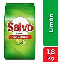Salvo Limón Lavatrastes Polvo 1,8 Kg