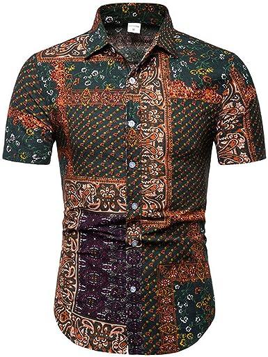 NiTuoZe Playera de Verano para Hombre, Estilo Chino Tradicional, Camisa de Joker: Amazon.es: Ropa y accesorios