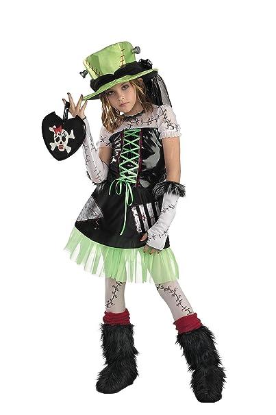 amazoncom girls monster bride kids child fancy dress party halloween costume clothing