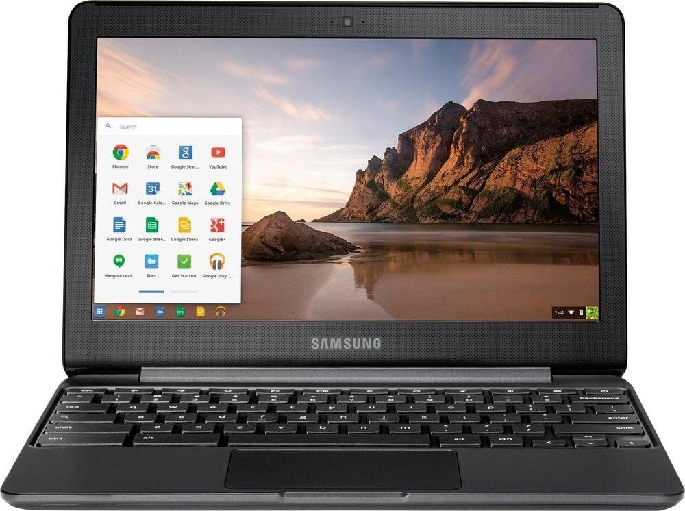 Samsung Chromebook 3 Laptop (XE500C13-K03US) - 11.6in HD, 32GB eMMC Flash, 4GB RAM Black (Renewed)